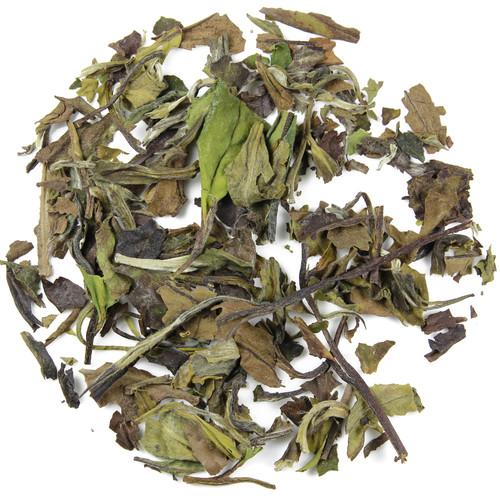 liście białej herbaty