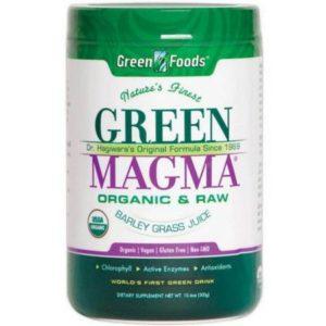 green magma suplement diety z młodego jęczmienia
